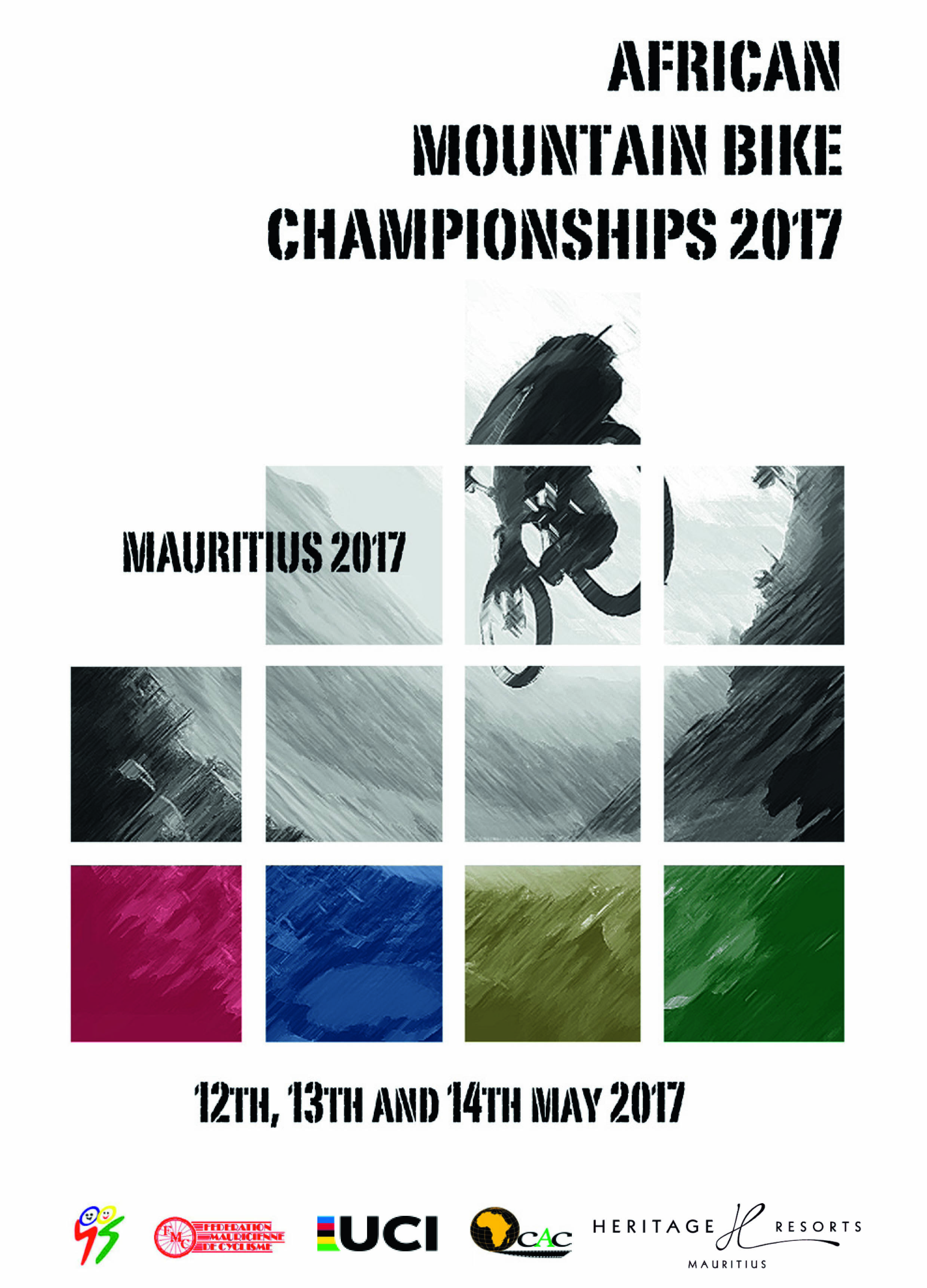 AFRICAN CONTINENTAL  MOUNTAIN BIKE CHAMPIONSHIPS 2017 - Programme-1
